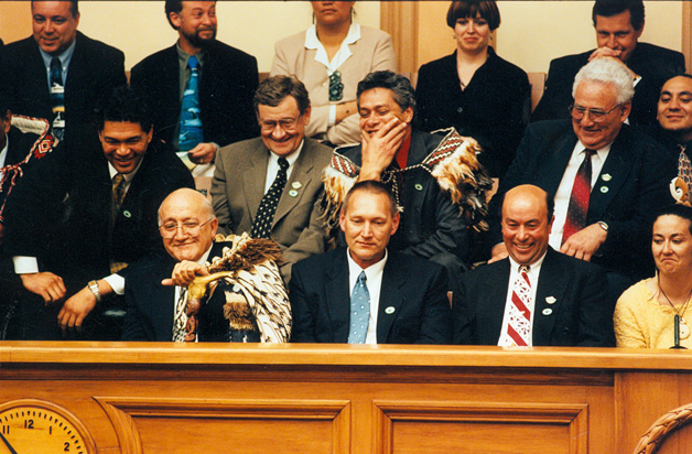 At the passing of the Ngāi Tahu Claims Settlement Act 1998.