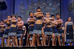 A chance for primary school children to shine on a multicultural stage,