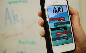 The new Maori language app.