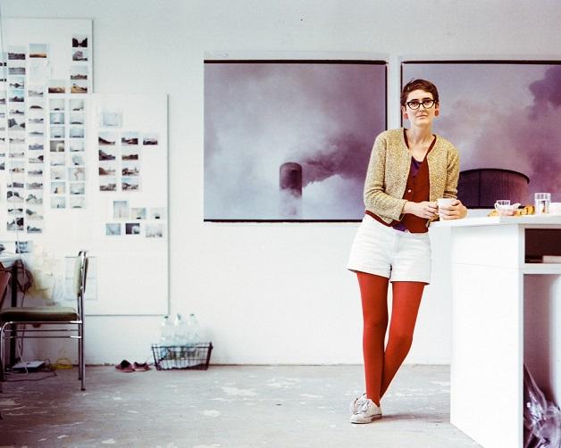Conor Clarke in her previous studio in Berlin. Photograph by Michael Dooney.