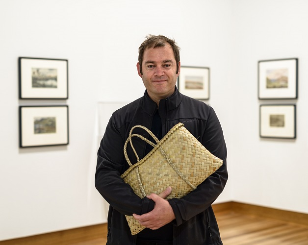 Ngāi Tahu artist Nathan Pohio curates his first exhibition.