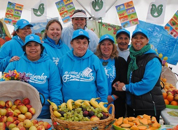 Promoting healthy living at Te Matatini