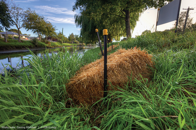 A completed bale install.
