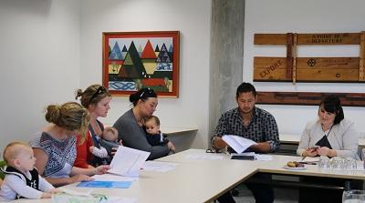 A group of Ngāi Tahu Farming mothers and tamariki attended the first Te Whenua Hou Community Committee meeting held at Te Rūnanga o Ngāi Tahu recently.