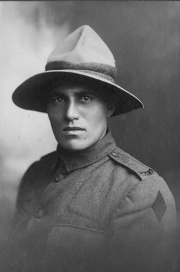 Corporal William (Bill) Te Koeti Bannister, photo courtesy of Paul Madgwick.