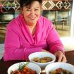 Tuahiwi kaumātua and Mana Whenua group member Joan Bergman fronts the cover of the new recipe book.