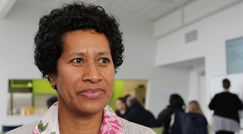 Charlene Benita Joe interested in connecting with whanau through waiata