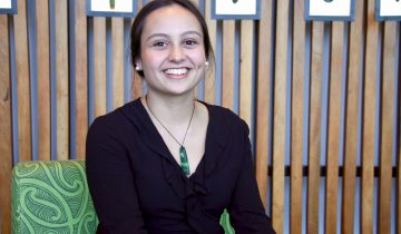Isobel lands inaugural Te Rokohira Scholarship