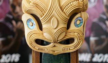 Te Ātanga, the Broadhurst-Shelford trophy unveiled