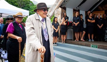 Tā Tipene O'Regans' Waitangi address at Ōnuku