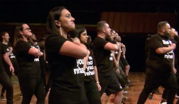 Haka challenge to battle domestic violence