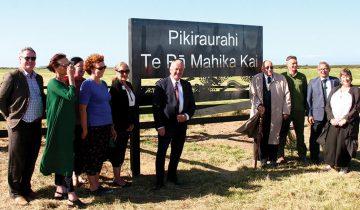 Strategic wetland returned to iwi ownership